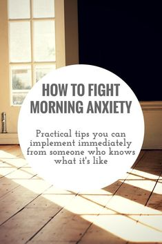 How to fight Anxiety, Panic attacks, Depression.