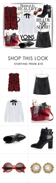 """""""Yoins! #30"""" by ina-kis ❤ liked on Polyvore featuring Kendra Scott, women's clothing, women, female, woman, misses, juniors, yoinscollection and loveyoins"""