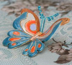 Modrý motýl / Zboží prodejce Muriel de Mour | Fler.cz