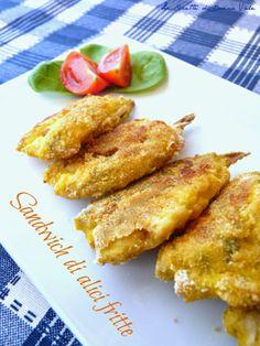 Le ricette di Donna Vale: SANDWICH DI ALICI FRITTE