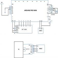 Block diagram of colour detector using arduino microcontroller circuit diagram of transmitting mouse data using xbee with arduino ccuart Images