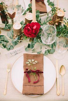 Ideas para decorar las mesas de los invitados | El Blog de una Novia | #fiesta #boda