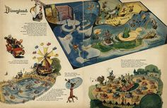 Fantasyland 1955--I WASN'T BORN YET, BUT I STILL WOULD HAVE LOVED TO HAVE GONE!
