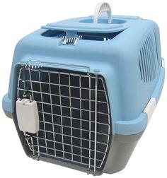 YML Group Z100M-BL Medium Plastic Carrier for Small Animal, Blue