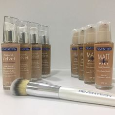 Depending on the need of your skin choose the right foundation and create the perfect 'canvas' for your make up looks. Art Of Beauty, Makeup Yourself, Shinee, Seventeen, Your Skin, Beauty Products, Makeup Looks, Foundation, Make Up