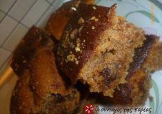 Greek Sweets, Greek Desserts, Greek Recipes, Greek Bread, Greek Cake, Cooking Cake, Cooking Recipes, Meals Without Meat, English Food
