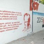 Ceyhan'da Okul Duvarları Sanat Galerisine Dönüşüyor