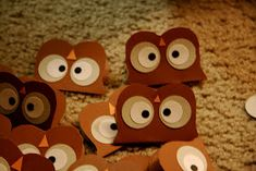 I decided to stay up until 2am  make these little owls to give to each of my students on my last day of student teaching. On the...