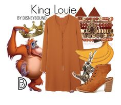 """""""King Louie"""" by leslieakay ❤ liked on Polyvore featuring Noir Jewelry, Samantha Wills, King Louie, MANGO, Hermès, women's clothing, women, female, woman and misses"""