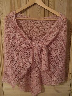 Eva's Shawl by my projects, via Flickr