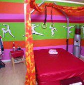 Gymnastics Themed Room