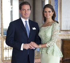 swedish princess wedding | ROYAL COUTURE.....Princess Madeleine of Sweden and fiancé Christopher ...
