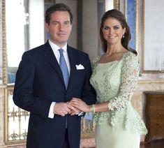 swedish princess wedding | ROYAL COUTURE.....Princess Madeleine of Sweden and fiancé Christopher ...