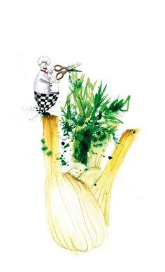 Mange Tout by Georgina Luck, via Behance