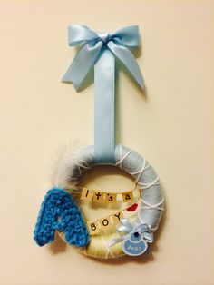 Wreath for baby BOY to Adrian