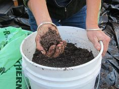 Peat-free planting mix recipe with coconut coir   Root Simple