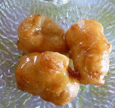 Heidis matblogg: Friterte bananer med karamellsaus