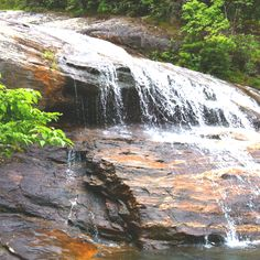 Waterfall at the Blue Ridge Parkway Graveyard Fields Trail    Taken by Jaehee Park
