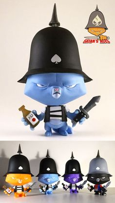 "Sam Fout × DuBoseArt's ""Satan's Aces: Ironside Battalion"" resin figure announced!!!"
