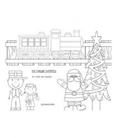 Free Polar Express Coloring Pages Free Homeschool and School