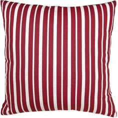 This striped pillow