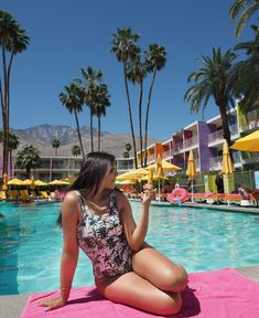 The Style Traveller- A Fashion Editor's style guide to the world Elle Fashion, Black Actors, Summer Photos, India Beauty, Palm Springs, Coachella, Sexy Legs, Spring Break, Travel Style