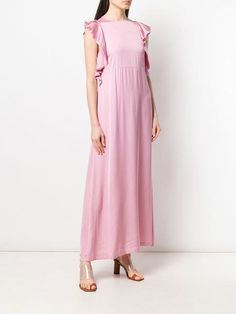 1ac05d3fb9a Semicouture Cedric flared maxi dress $231 - Buy SS19 Online - Fast Global  Delivery, Price