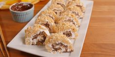 Best S'mores Sushi Recipe - How to Make S'mores Sushi