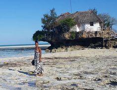 Ocean adventures in #Zanzibar with @1stclassfrance. The Rock restaurant is so legendary! // Travel Well #TravelFly!