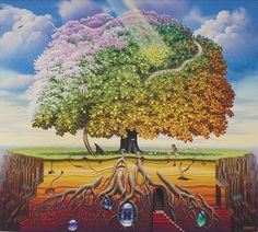 Tantric Apple Tree (Jacek Yerka)
