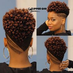 If you've decided to take the plunge and finally chop your hair, Get inspired with these 35 chic and stylish big chop hairstyles for short natural hair Mohawk Hairstyles For Women, Big Chop Hairstyles, Cute Hairstyles For Short Hair, Curly Hair Styles, Hairstyles 2018, Black Women Short Hairstyles, Latest Hairstyles, Amazing Hairstyles, American Hairstyles