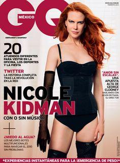 Febrero en GQ con Nicole Kidman