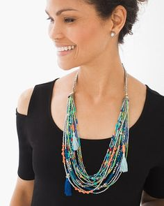 Zoey Multi-Strand Necklace