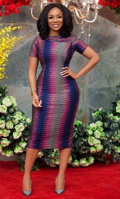 How to Look Classic Like Serwaa Amihere - 30 Outfits Short African Dresses, Latest African Fashion Dresses, African Print Fashion, African Prints, Ankara Fashion, Africa Fashion, African Fabric, Short Dresses, Classy Work Outfits