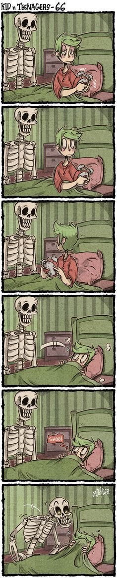 This is me sometimes (The Skeleton)