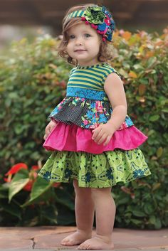 Persnickety Spring 2015 Forget Me Not Layette Penelope dress Girl's Clothes… Toddler Girl Outfits, Little Girl Dresses, Kids Outfits, Flower Girl Dresses, Girls Dresses, Persnickety Clothing, Penelope, Paisley Dress, Clothing Company