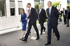 Prince William gets an official tour: He will return to duties with the East Anglian Air Ambulanc...