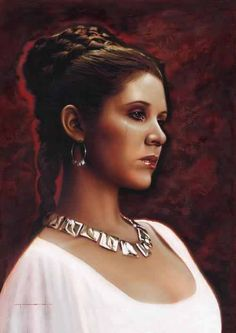 """Princess Leia......""""Your friend is quite the mercenary. I wonder if he really cares about anything. Or anybody."""""""