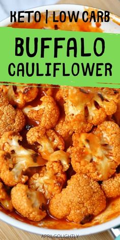 Make this amazing buffalo cauliflower for a great appetizer, snack, or side dish. Its super yummy with Frank's red hot buffalo sauce. #cauliflower #cauliflowerrecipes Healthy Vegetable Recipes, Healthy Vegetables, Vegetable Side Dishes, Easy Appetizer Recipes, Great Appetizers, Dinner Recipes, Yummy Recipes, Best Side Dishes, Side Dish Recipes