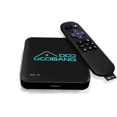 GooBang Doo XB-II Android 5.1 TV Box with 1000Mbps Lan 16GB Rom, Unique Server(OTA) and True 4K Playing