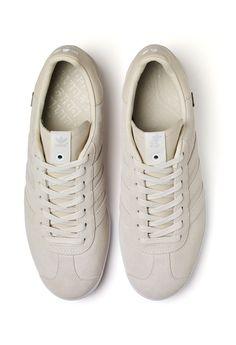 Alfred x adidas Consortium Gazelle Adolf Dassler, Striped Shoes, Adidas Gazelle, Trainers, Kicks, Adidas Sneakers, Swag, Footwear, My Style