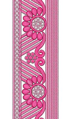 Awesome Look Lace Embroidery Design