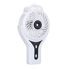 Constructive Summer Portable Cute Mini Fan Sponge Blade Battery Electric Flashlight Handheld Flashlight Fan Household Appliances