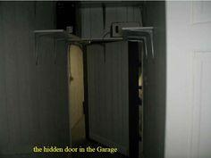 Hidden door in garage led to natural cave converted into 100 yard long marijuana growing   space.