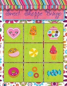 Sweet Shoppe Birthday Party - Candy Theme Ideas |