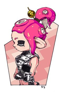 Omg I love this🔥😍 Nintendo Splatoon, Splatoon 2 Art, Splatoon Comics, Fanart, Kawaii Anime, Game Art, Character Art, Memes, Chibi