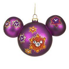 Rhinestone Mickey Mouse Ornament