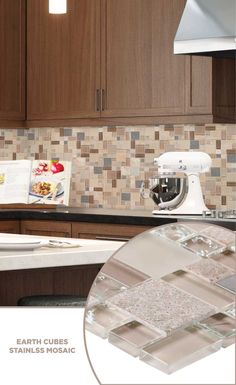 #tile #lowes #mosaics #glassmosaics #backsplash CHIGLABPES8036 Available At  Loweu0027s And Lowes