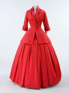 .História da Moda.: 1947: O New Look Dior