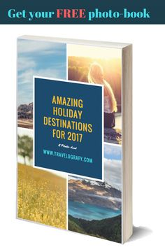 This book contains:  1. Beautiful pictures of 20 amazing places to visit in 2017 2. Must visit attractions 3. Best time to visit 4. Weather  5. Minimum air fare from London or NY 6. Average stay cost in 3 star hotel